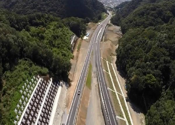 和歌山岬道路平井南地区改良工事